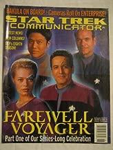 Star Trek Communicator #133 June/July 2001 Bakula Farewell Voyager Enterprise DS9 8th Season