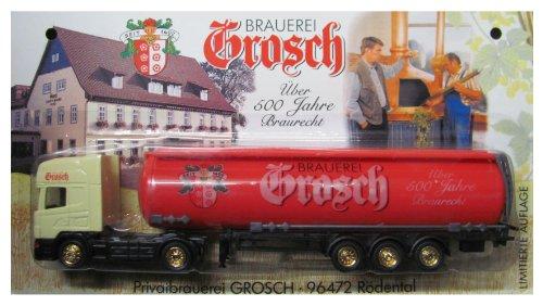 Grosch Nr.01 - Über 500 Jahre Braurecht - Scania - Sattelzug mit Tankauflieger