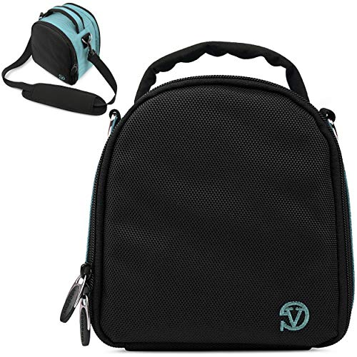 VanGoddy Laurel Sky Blue Carrying Case Bag for Polaroid OneStep 2 i-Type Camera, Pop, Snap, Snap Touch, Pic-300 Instant Print