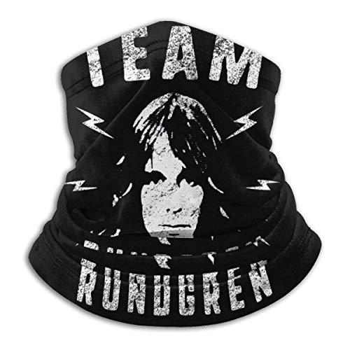 Todd Rundgren transpirable cara cubierta bufanda microfibra cuello calentador para unisex
