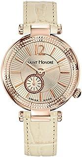 Saint Honoré - Reloj Analogico para Mujer de Cuarzo con Correa en Cuero 7620218BGFIR