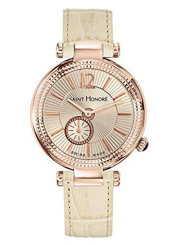 Saint Honoré Reloj Analogico para Mujer de Cuarzo con Correa en Cuero 7620218BGFIR