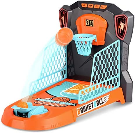 Kzm Finger Basketball Shooting Game Toy Desktop Table Basketball Games Set with Basketball Court product image