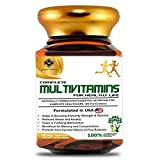 Mountainor Complete Multivitamins for Men and Women, Enriched with Natural Extracts, Minerals, Antioxidants