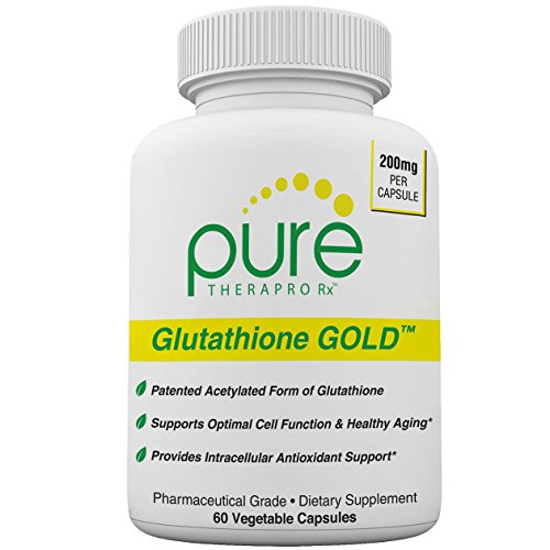S-Acetyl Glutathione Gold - 60 DRcaps Acid-Resistant | 200mg Per Capsule | Patented Acetylated Form of Glutathione (Emothion