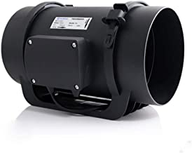 ZSQAW Quiet Duct Fan with Speed Controller - Ventilation Exhaust Fan for Heating Cooling Booster