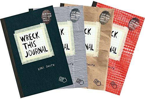 Wreck This Journal (4 Volume Set)