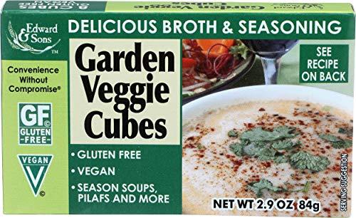 Edward & Sons, Bouillon Cubes Garden Veggie, 2.9 Ounce
