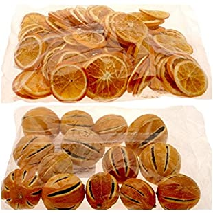 Mixed dried Orange pack 250g slices (approx 65/70) + 250g whole oranges (approx 9/10):Viralbuzz