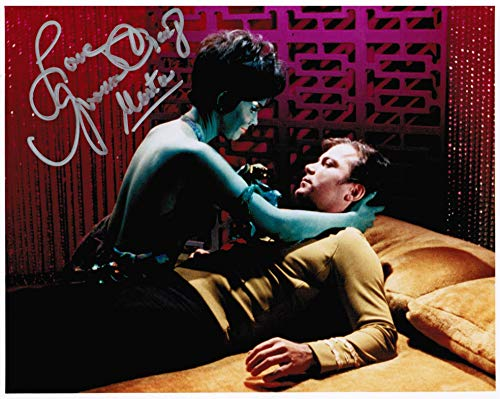 Star Trek: The Original Series Yvonne Craig as Marta Original Autograph Signed 8' x 10' Photo B