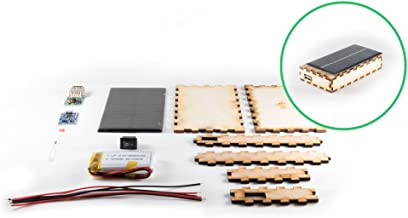 Kitables DIY USB Solar Panel Portable Charger Kit   Build Your Own Portable Phone Charger for iPhone, iPad, and Android   Perfect for STEM Curriculum