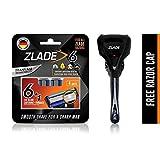 Zlade 6 Blade Viper Motion Shaving Razor For Men