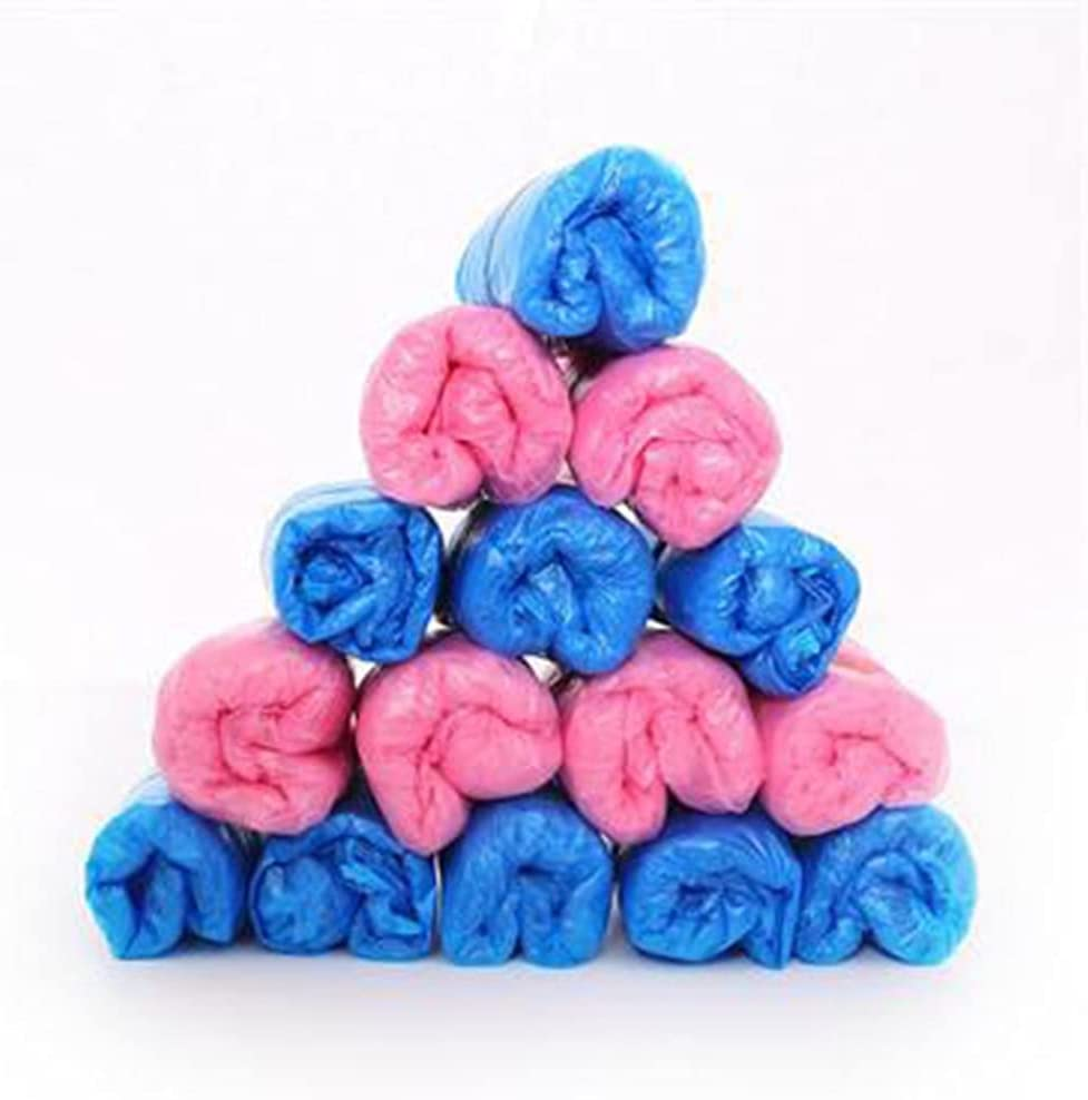 DTTBlue 100pcs Waterproof Anti Long Beach Mall Slip Boot Covers Plastic Outlet sale feature Disposab