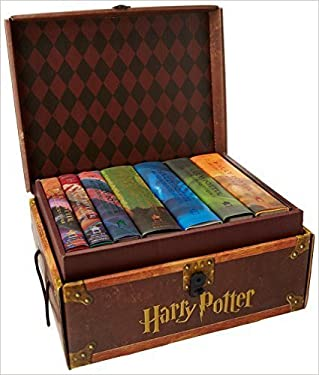 HARRY POTTER 7 HARDBACK BOOKS WITH DUST JACKETS