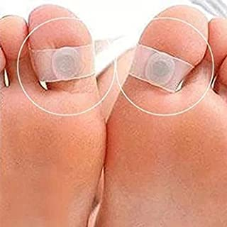 Weight Loss Toe Ring, Silicone Magnetic Acupressure Foot Massage Rings for Reduce Fat and Slimming