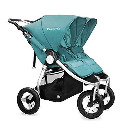 Bumbleride 2016 Indie Twin Stroller with SPF 45 Sun Canopy Extension … (Camp...