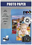 "PPD 10 x 15 cm (4 x 6"") Papel Fotográfico Satinado Perlado Súper Premium Para..."