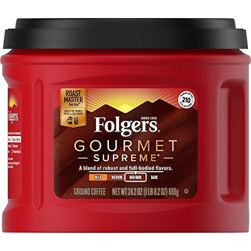 Folgers Gourmet Supreme Ground Coffee 242oz