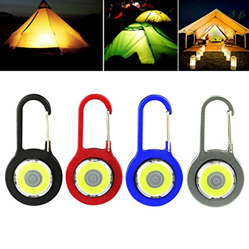 Bazaar Mini 3W Portable COB Camping lantaarn LED Sleutelhanger zaklamp voor outdoor wandelen vissen