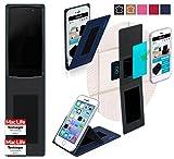 reboon Hülle für Alcatel Idol 4 Pro Tasche Cover Case Bumper | Blau | Testsieger