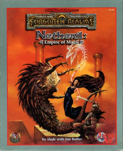 Netheril: Empire of Magic (Advanced Dungeons & Dragons / Forgotten Realms)