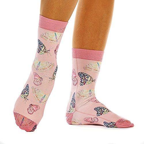 wigglesteps Atel Tekstil GmbH Sweet Butterflies Größe 1 pink