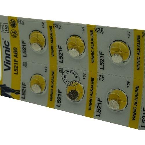 Otech Pack de 10 Piles Vinnic 4898338000658