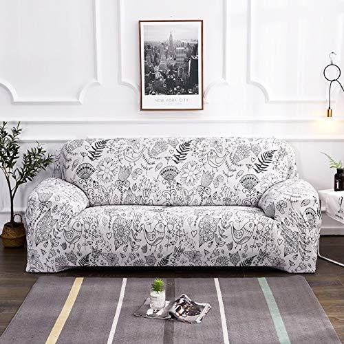 PPOS Funda de sofá de Colores con Funda Estampada para Capa de sofá para Sala de Estar Funda de sofá Seater A8 4 Asientos 235-300cm-1pc