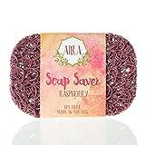 Aira Soap Saver - Seifenschale & Seifenhalter Zubehör - REACH-konform & Plant Based BPA frei Dusche...