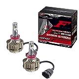 IPF ヘッドライト LED H11 バルブ Fシリーズ 12V/24V 兼用 6500K 5000lm ドライバーユニット一体型 F301HLB
