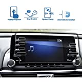 LFOTPP Car Navigation Screen Protector for 2018-2019 Accord LX 7-Inch, Tempered Glass 9H Hardness Car Infotainment Stereo Display Center Touchscreen Protective Film