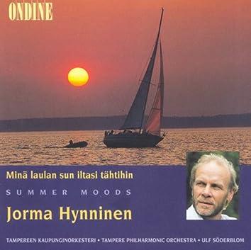 Vocal Recital: Hynninen, Jorma - Turunen, M. / Merikanto, O. / Madetoja, L. / Hannikainen, I. (Mina Laulan Sun Iltasi Tahtihin, Summer Moods)