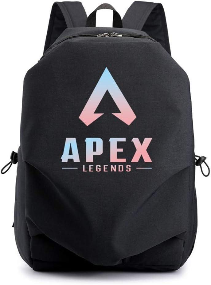 DuLi Games Apex Legends Backpack USB Charging Anti-Theft Unisex Student Bookbag