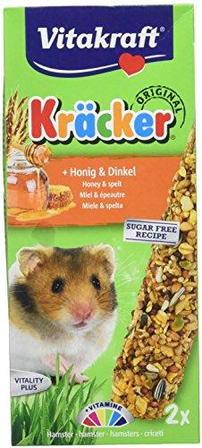 Vitakraft - 25152 - Krcker au Miel Hamsters P/2