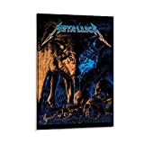 Metallica Poster Zürich Poster, dekoratives Gemälde,