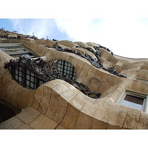 Classic Puzzle Mila House Barcelona 500 1000 1500 2000 3000 4000 5000 Piezas Rompecabezas de rompecabezas para adultos Difícil pieza grande Pedazo Puzzle ocio entretenimiento Cumpleaños Regalo Decorac