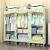 Closet Storage Closet Clothes Portable Armario de pie, armario de almacenamiento, vestimenta, vestidores portátil, armario, armario, armario, estantería, ropa, vestidor. Wardrobe Closet Organizer Shel