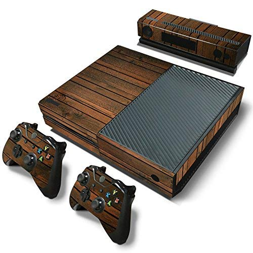 Mcbazel Adesivo della pelle del vinile delle decalcomanie della serie di modello per Xbox One originale Solo Non per Xbox One S / Xbox one X (Grana di legno scuro)