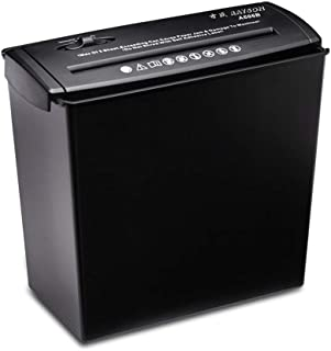 Decdeal A606B المهنية مصغرة ورقة تقطيعه 5 ورقة مكتب الكهربائية الوثائق آلة قطع ملفات الشريط القاطع