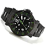 Renato T-Rex Diver GMT 2 Time Zone Limited Production 100pcs Black/Green Markers