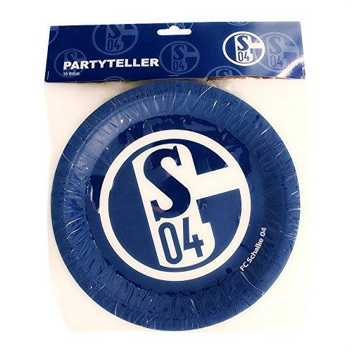 FC Schalke 04 Pappteller 10er Set