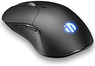 Wireless Mouse Rechargeable, INPHIC Silent Wireless Computer Mouse, 2.4G USB Receiver 1600 DPI, 6 Buttons Mice for Laptop ...