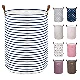 DOKEHOM 17.7-Inches Large Laundry Basket (9...