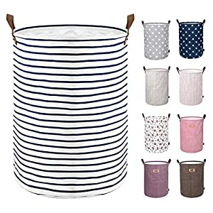DOKEHOM 17.7-Inches Large Laundry Basket (9 Colors...