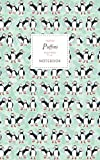 Puffins Notebook - Ruled Pages - 5x8 - Premium: (Spring Green Edition) Fun notebook 96 ruled/lined pages (5x8 inches / 12.7x20.3cm / Junior Legal Pad / Nearly A5)