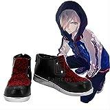 BELUNOT New Anime Yuri!!! on ICE Yuri Plisetsky Cosplay Party Shoes Custom Made 41