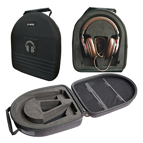 V-MOTA TDG Headphone Suitcase Carry case boxs for Audio-Technica ATH-DSR9 ATH-M50X ATH-M50 ATH-M70x ATH-WS1100 ATH-WS550 ATH-WS770 ATH-MSR7 ATH-DSR7 ATH-M40X ATH-M30X Headset