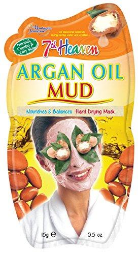 Montagne Jeunesse Masque Boue à l'huile d'Argan - Nettoie en profondeur