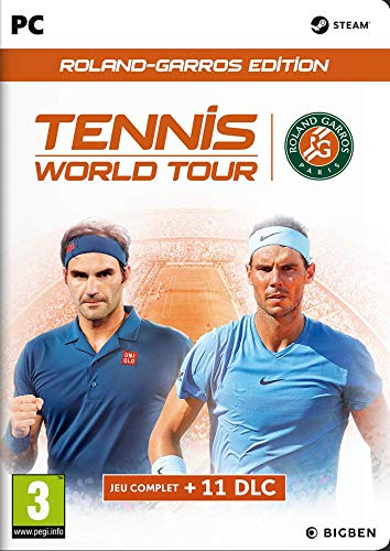 Tennis World Tour: Roland Garros PC Cartridge