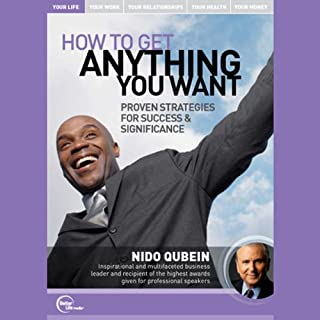 How to Get Anything You Want audiobook cover art